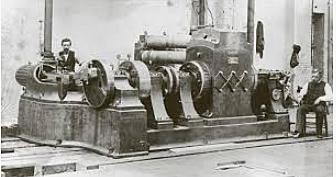 La primer central eléctrica