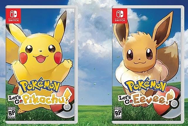 Pokemon Let's Go, Eevee!/Pikachu!