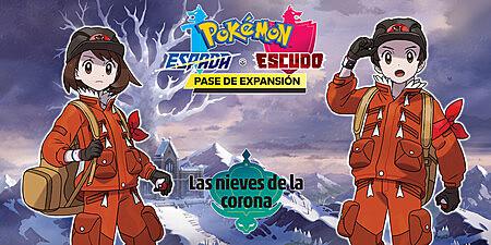 Pokemon Espada y Escudo: Nieves de la Corona.