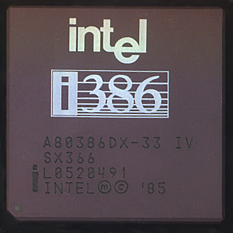 MICROPROCESADOR INTEL 386/AMD 80386