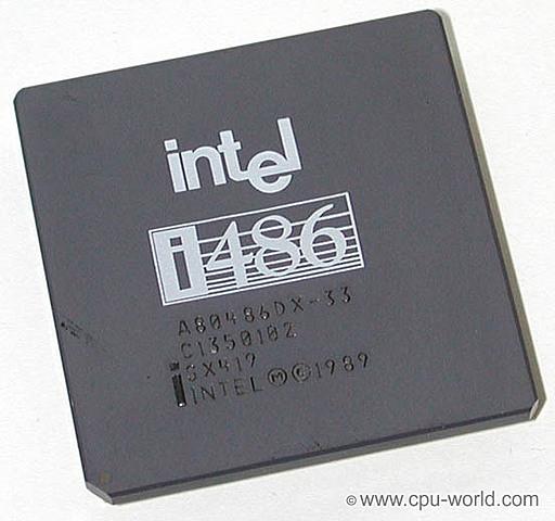 MICROPROCESADOR INTEL 486/AMD 80486