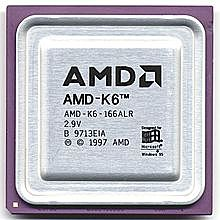 MICROPROCESADOR INTEL PENTIUM II/AMD K6