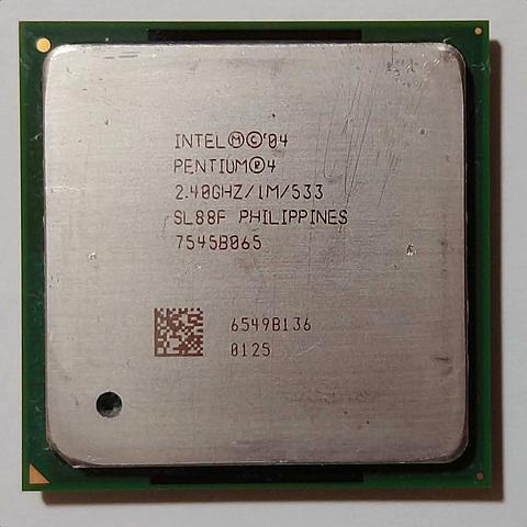 MICROPROCESADOR INTEL PENTIUM IV/AMD ATHLON