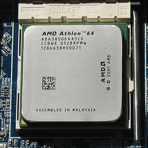 MICROPROCESADOR INTEL PENTIUM D/AMD ATHLON 64