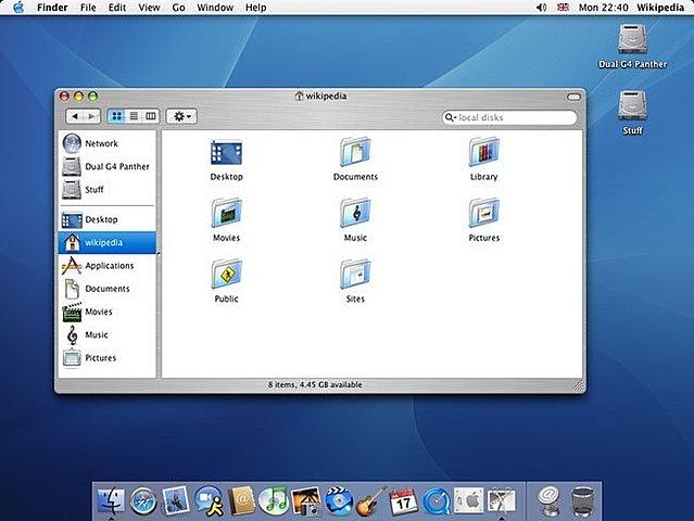MAC OS 10.3