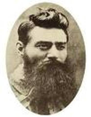 Ned Kelly was born