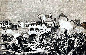 Derrota de los austriacos y anexión de Lombardía