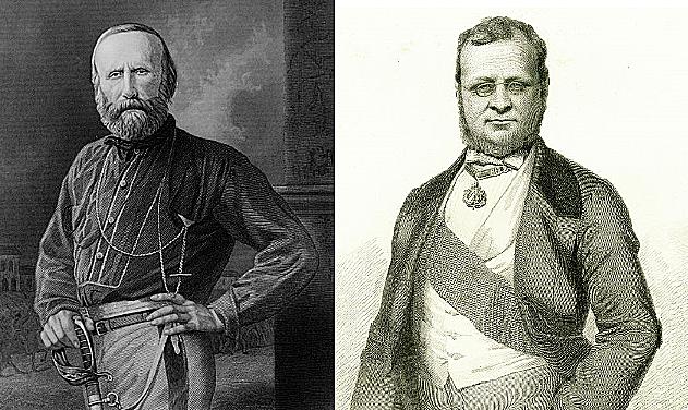 G. Garibaldi y Cavour