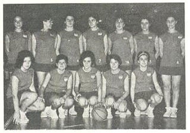 Primer equipo de basquetbol femenino