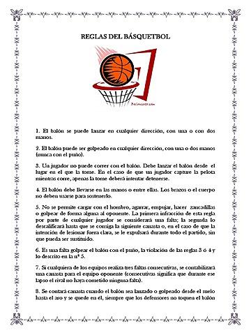 Se establecen las reglas definitivas del baloncesto varonil