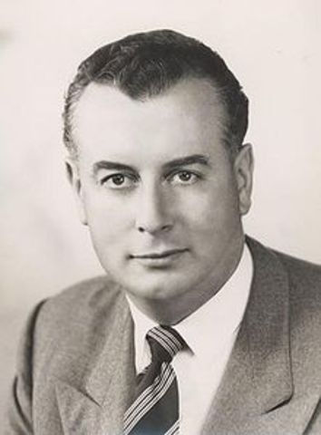 Gough Whitlam becomes the 21st PM