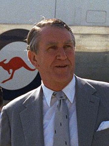 Malcolm Fraser becomes the 22nd PM