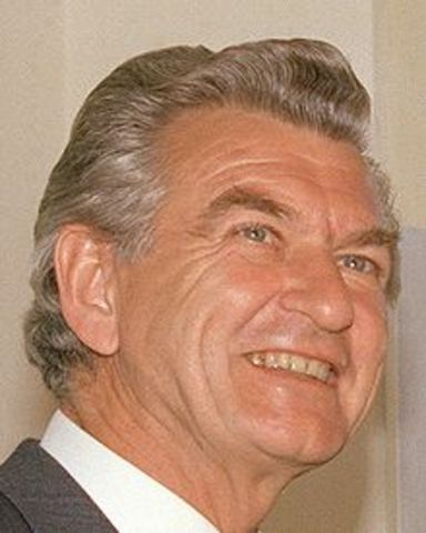 Robert Hawke becomes the 23rd PM