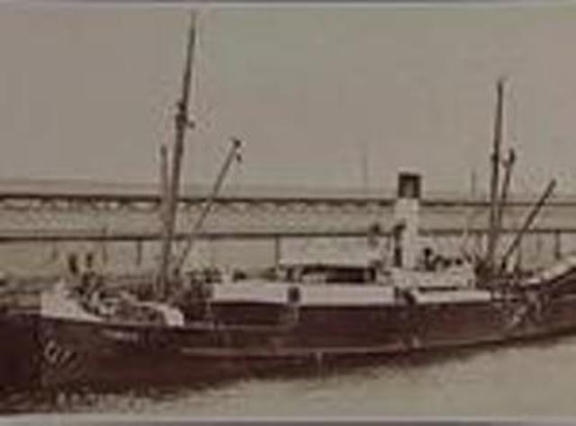 SS Toroa departs Hobart