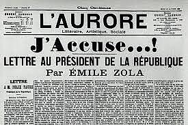 Emile Zola publie «J'accuse…!»