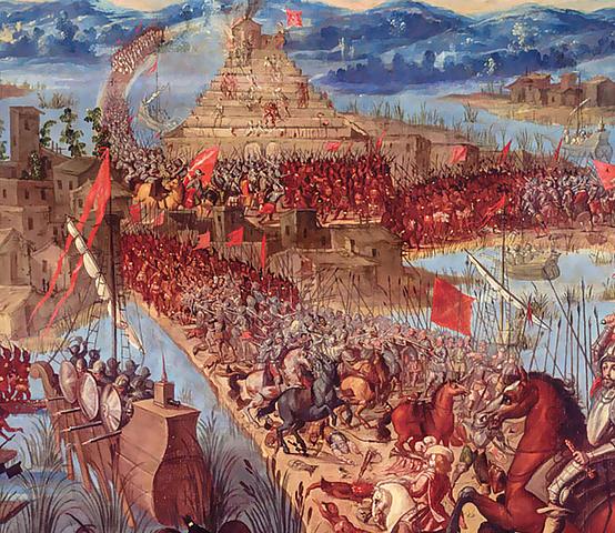 1521 Conquista y Colonización.