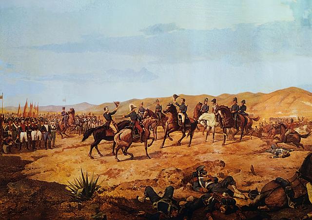 1836 Reconocimiento de la independencia de América.