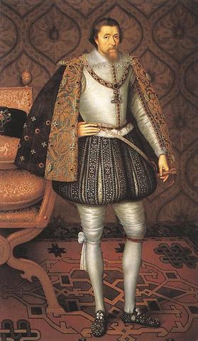 James 1 becomes King of england