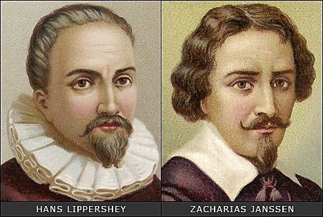 Hans and Zacharias Janssen invented the first microscope.