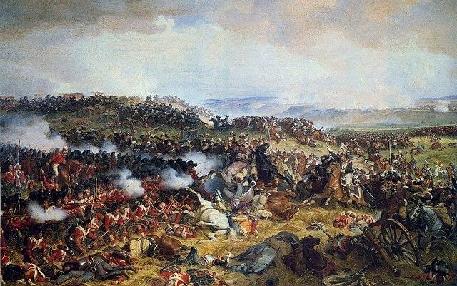 Sconfitta di Napoleone a Waterloo