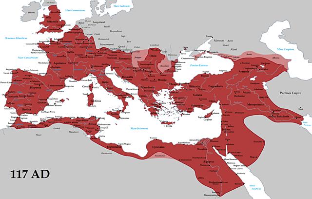 27 BC-476 AD. Roman Empire