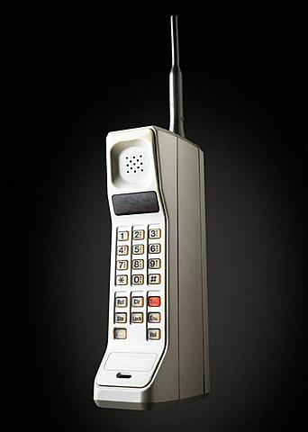 Primer Teléfono Móvil.