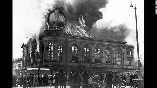 Kristallnacht - November 9, 1938 – November 10, 1938