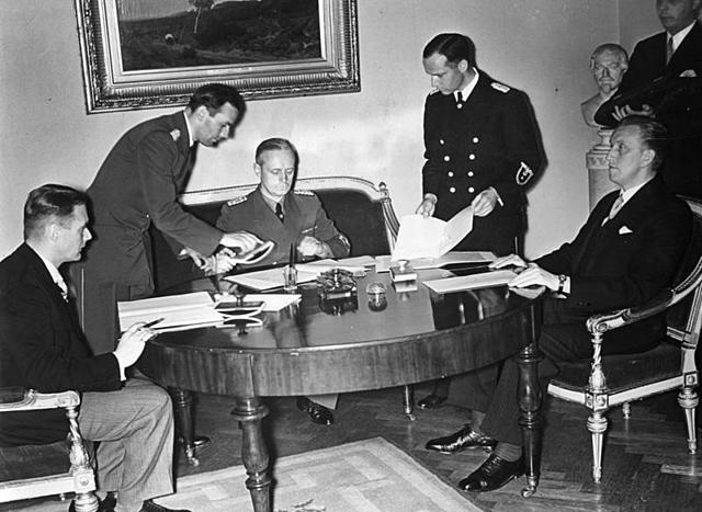 Munich Conference - Non-Aggression Pact is signed