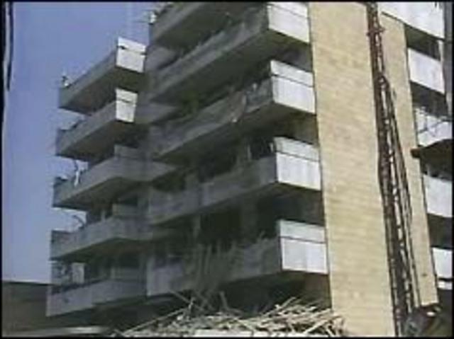 US Embassy bombed