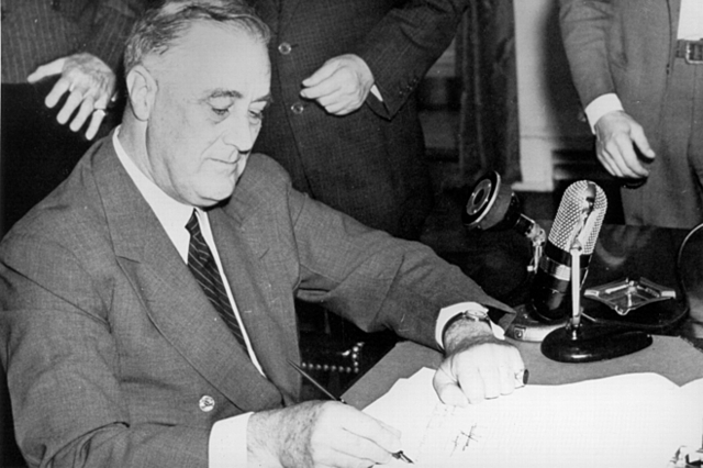 Selective Training and Service Act is passed September. 16, 1940