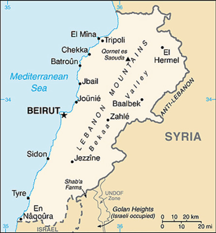 US Embassy attack, East Beirut