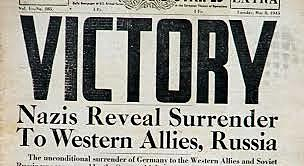 VE Day - May 8, 1945