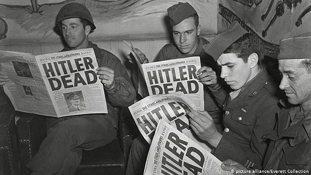 Adolf Hitler commits suicide April 30, 1945