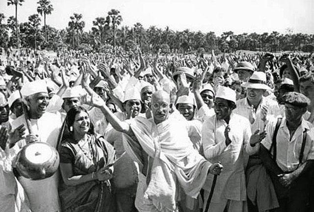The last phase of Satyagraha