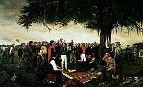 1836-Independencia de Texas