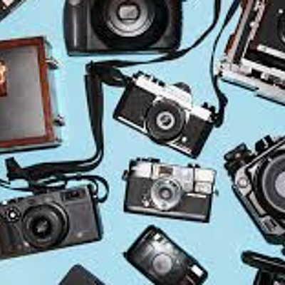 The History of Cameras timeline
