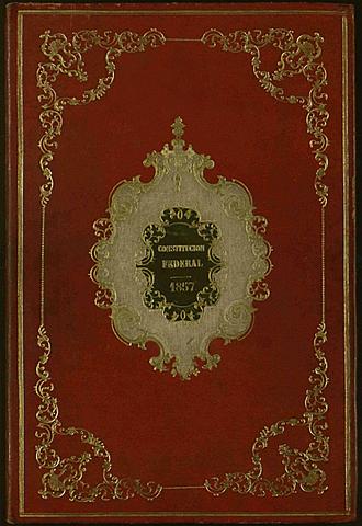 1857-Segunda constitución mexicana