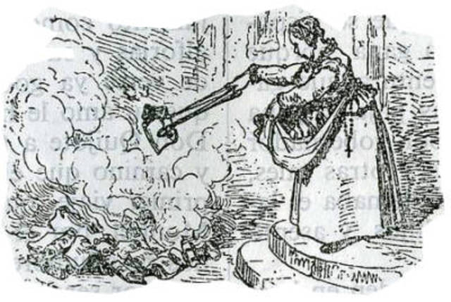 Quema de libros de Don Quijote