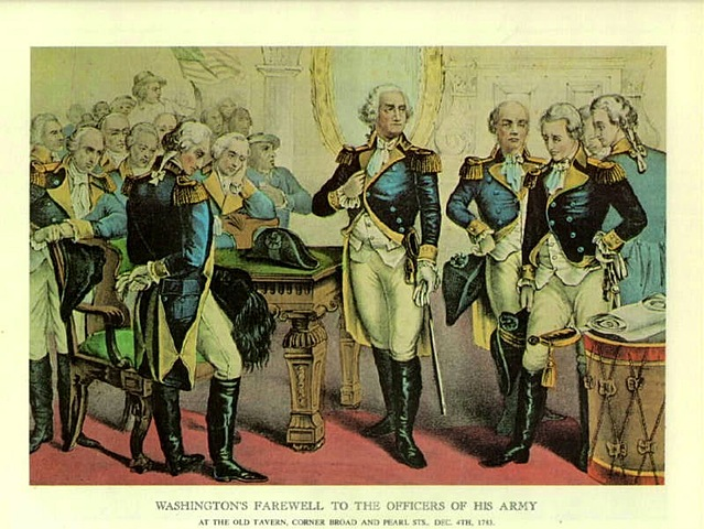 General Washington puts an end to the Newburgh Conspiracy.