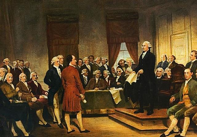 Delegates call for a constitutional convention.