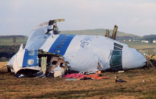 Pan Am Flight 103, Lockerbie, Scotland