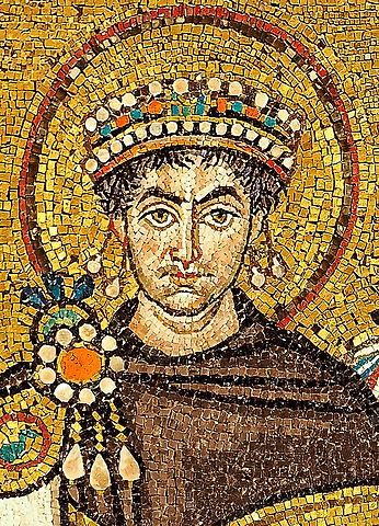 Kaiser Justinian verfügt die Schließung sämtlicher Theater