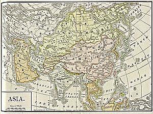 Verbreitung des Schattenspiels über ganz Asien