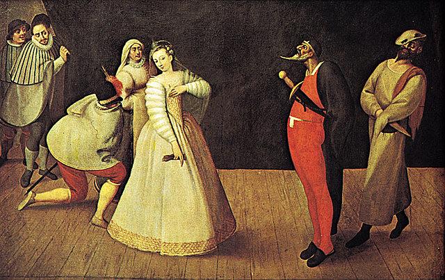 Massimo Troiano verfaßt das älteste schriftlich überlieferte Scenario einer Commedia dell'arte für eine Aufführung am bayrischen Hof