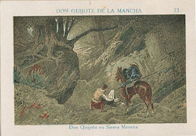 Don Quijote en la Sierra Morena