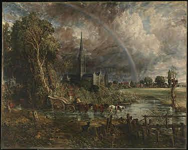 La Cattedrale di Salisbury vista dai prati