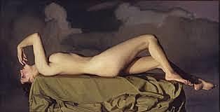 Desnudo tendido