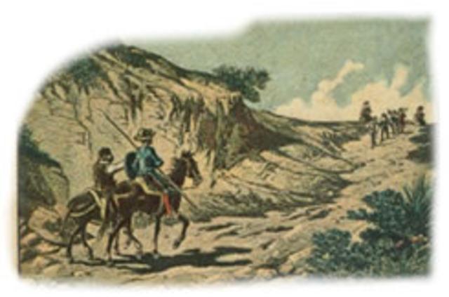 Don Quijote libera unos maleantes