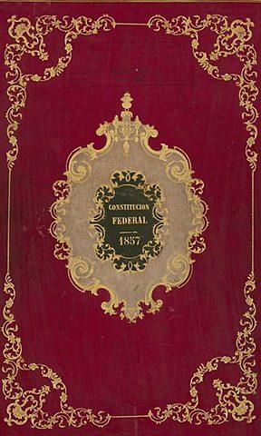 1857 Segunda Constitución Mexicana