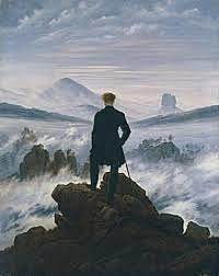"""""""Viandante davanti a un mare di nebbia"""""""